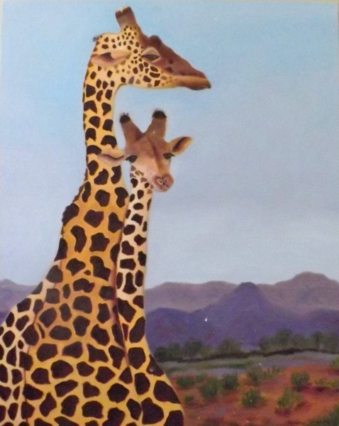 http://sharonfurmanart.com/files/gimgs/th-2_Giraffes 1 30x24.jpg